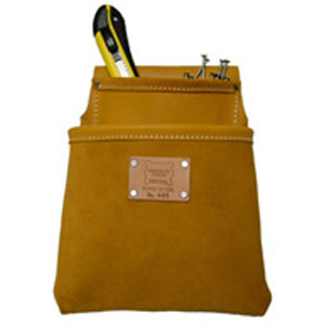 2-Pocket Professional Moccasin Drywall Pouch