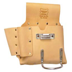 6-Pocket Drywall Hanger's Tool Pouch - Left Handed