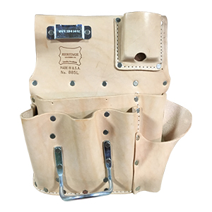 7 Pocket Drywall Hanger's Tool Pouch - Left Handed