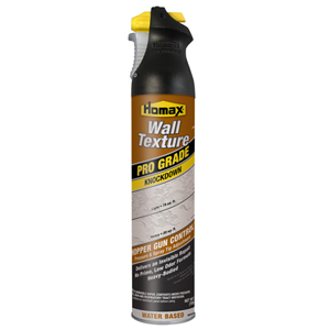 Pro Grade Wall Texture, Knockdown, Water Based, 25oz