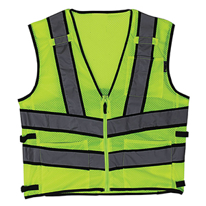 Viz-Pro 2 Yellow Safety Vest (L)