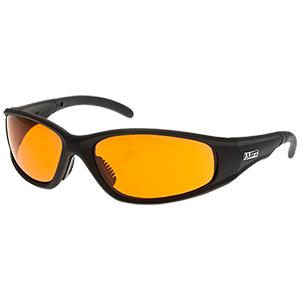 Strobe Safety Glasses - Black/Amber