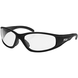 Strobe Safety Glasses - Black/Clear