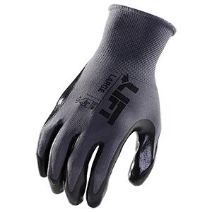 Palmer Nitrile Coated Gloves - Black (M)