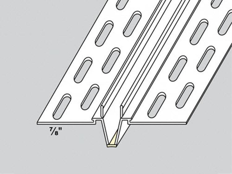 10 ft Vinyl Expansion Control Joint - 20/ctn