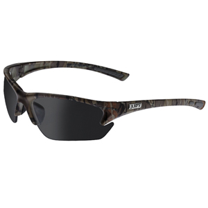 Quest Safety Glasses- Camo/Smoke