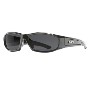 Switch Black Safety Glasses- Smoke