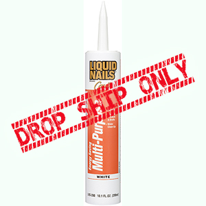 LIQUID NAILS Energy Saving Multi-Purpose Caulk [10.1oz] LRS-280