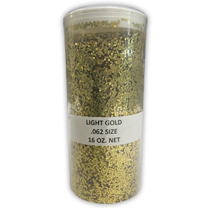 Gold Glitter - 16 oz. Jar