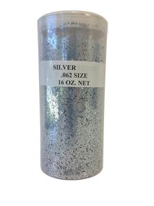 Silver Glitter - 16oz. Jar