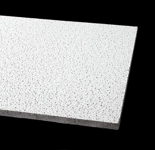 3/4 in x 2 ft x 2 ft Armstrong School Zone Fine Fissured 15/16 in Square Lay-in Fire Guard Panel - 1810