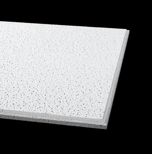 5/8 in x 2 ft x 4 ft Armstrong Fine Fissured 15/16 in Angled Tegular Fire Guard Panel - 1834