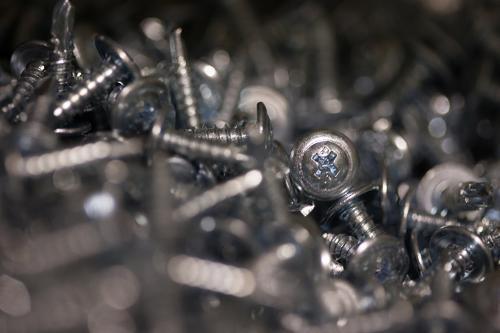 2-3/8 in Self-Drilling Zinc Screw - 3,000/ctn