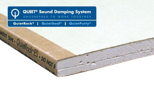 5/8 in x 4 ft x 8 ft PABCO QuietRock® ES Mold Resistant
