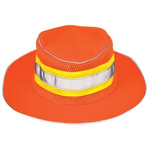 Full Brim Safari Hat - Orange (L-XL)