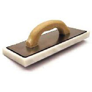 White Foam Float with Wood Handle