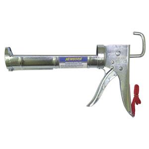 Drop-In Super Ratchet Zinc Chromate Caulk Gun - 1/4 Gal