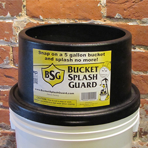 Bucket Splash Guard