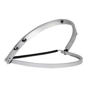 Aluminum Face Shield Bracket for Full Brim Hard Hats