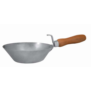 Kraft Bucket Scoop Galvanized Steel