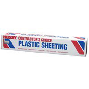 Clear Plastic Sheeting - 4 mm, 10' x 100'