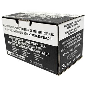 42 Gallon 3 Mil Economy Contractor Bag [20]