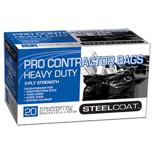 42 Gallon 3 MIL Heavy Duty Contractor Bag [20]