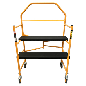 Heavy-Duty Portable Folding Scaffold - 4'