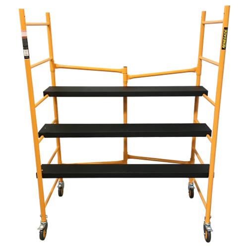 Portable Scaffolding With Wheels : Heavy duty portable folding scaffold at tsw