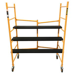 Heavy-Duty Portable Folding Scaffold - 6'