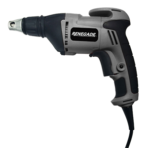 Drywall Screw Gun - 120V, 60 HZ, 4.5 AMP, 4,500 RPM