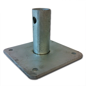 Base Plate for Scaffolds
