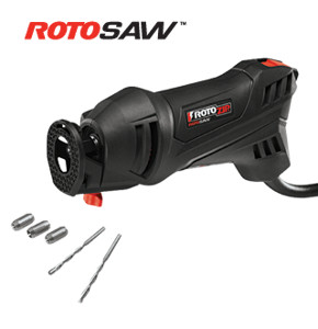 ROTOSAW Spiral Saw Kit 5.5 amp 120-Volt