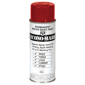 EconoMark Marking Paint - Red - 11.2 oz.