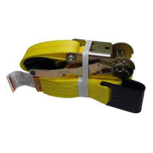 Flat Hook Ratchet Strap - 30'