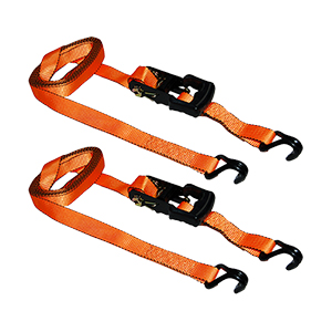 16? x 1.25? Ratchet Tie Down - 2 Pack