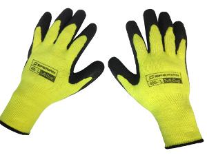 Tuff-Coat Medium Weight Glove Hi-Viz Yellow (L)