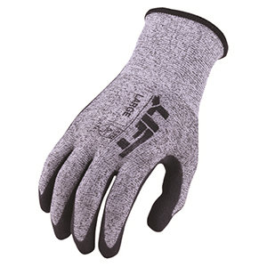Cut Level 4 Staryarn Crinkled Latex Gloves (L)