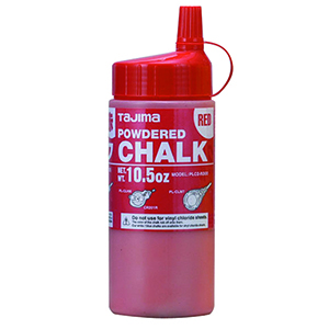 Red ultra-fine powdered chalk, 10.5 oz (300g)