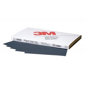 3M Imperial Wetordry Sheet, 1500 grit