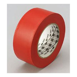 3M Red Vinyl Duct Tape - 50 yd.