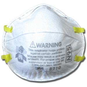 3M Particulate Respirator 8210 Plus