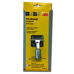 Pro Drywall Sanding Kit w/Metal Adapter Display