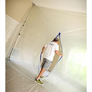 E-Z Up Dust Containment Poles - 12' [2/pk]