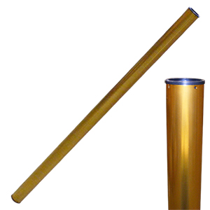 Gold Taper Tube