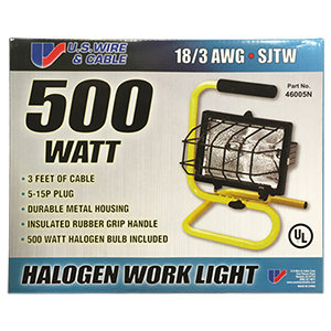 Portable Halogen Light with