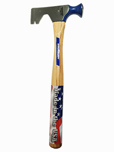 Drywall Hammer - 12 oz Flat Milled Head