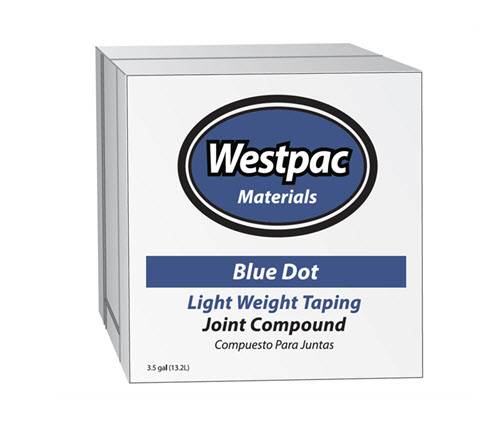 Westpac Blue Dot Light Taping - 4 gallon box
