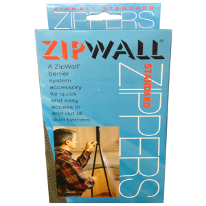 Zip Wall Zipper - Adhesive (2 per pack)