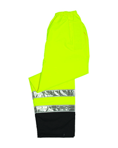 Lime Storm Cover Rainwear Pants - Large / X-Large